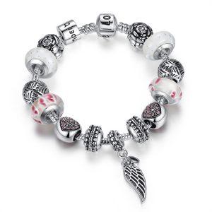 graceful-angel-wing-pendant-charms-bracelet
