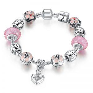 heart-pendant-cherry-blossom-charm-bracelet