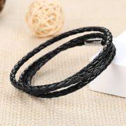 infinity-wrap-leather-wristband-black2