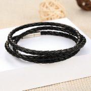 infinity-wrap-leather-wristband-black3