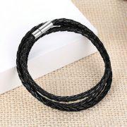 infinity-wrap-leather-wristband-black4