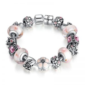 light-pink-lotus-charms-bracelet