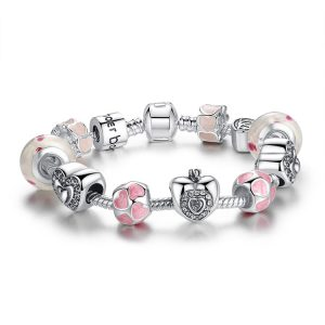 pink-youth-charms-bracelet