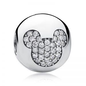 Disney Mickey Pavé Clip