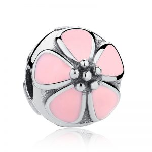 Pink Cherry Blossom Clip