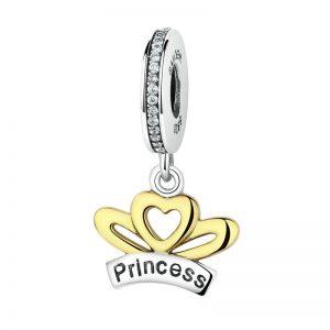 Princess Crown Pendant