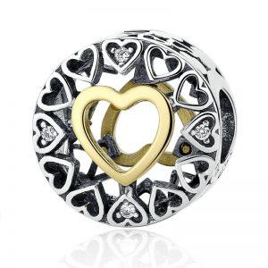 Circle of Love Charm