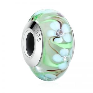 Floral Murano Charm