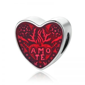 Latin Love Heart Charm