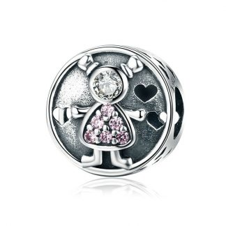 Baby Girl and Boy Charm