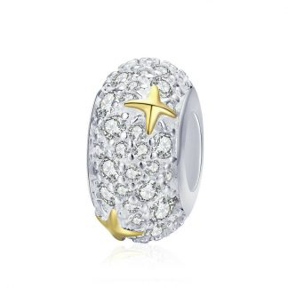 Dazzling Golden Star Spacer