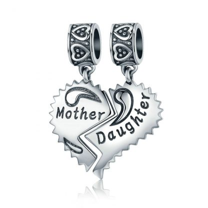 Mother and Daughter Shared Pendant